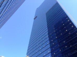 Looks like 33 floors