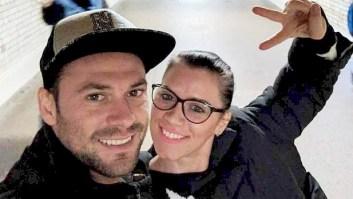 With boyfriend Andrei Burnaz