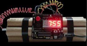 Mock alarm clock