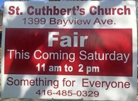 st-cuthberts-fair-sign