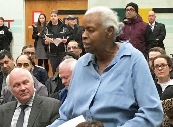 Pat Moore, Thorncliffe Park tenant