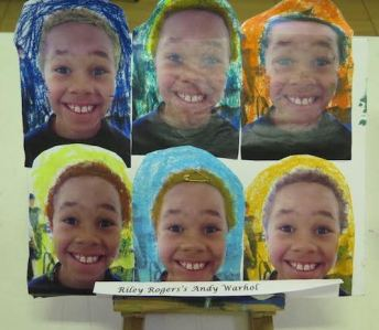 Riley Roger's Andy Warhol
