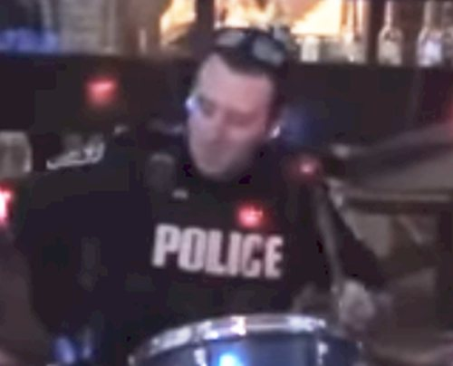 Young rock band an easy fit for Peel Region drummer cop