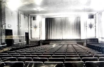 Inside Hudson (later Mt. Pleasant) Theatre