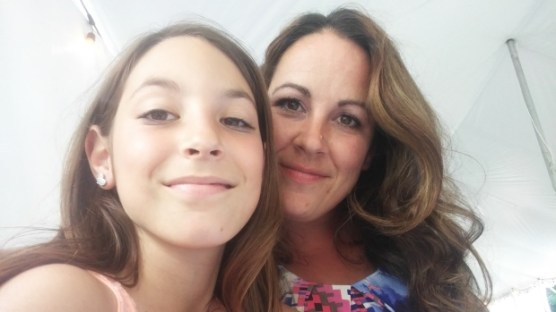 Melissa Lopez and 10-year-old daughter Elianna