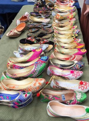 Colourful; shoes for sale