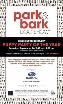 Park and Bark Dog Show