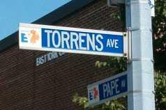 Former street signs
