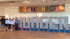 """Canstruction"" can beat hunger"