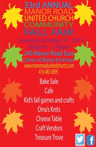 MRUC Community Fall Fair