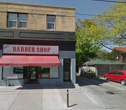 Lane beside Pat's Barber Shop
