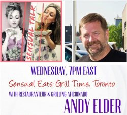 Join Andy and Emanuela at 7 p.m. Wednesday on Instagram