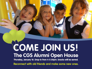 Please rsvp Kelly Scott at kscott@cgsschool.com or 416 423 5017 x 43
