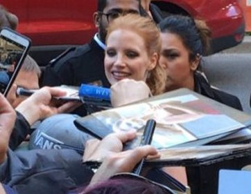 Molly's Chance star Jessica Chastain/TIFF
