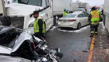 Miraculous escape from injuries at crash on 400 at Barrie – The