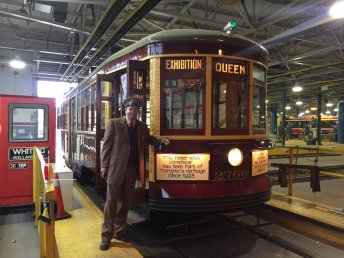Getting this old Witt streetcar ready for the parade.