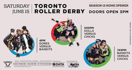 Derby rolls into Leaside this Saturday