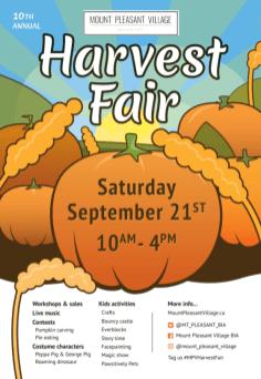 Harvest Fair Satruday