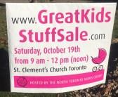St. Cuthbert's GreatKids StuffSale