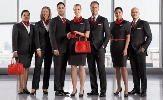 Air Canada crew see you as everyone but still dress like ladies and gents/Air Canada