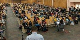 Big turnout for Curriculum Night at Davisville Public School (Twitter @DavisvillePS)
