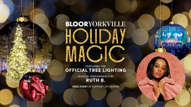 Nov 23, 2019 - Bloor-Yorkville Holiday Magic