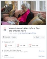 Nov 22, 2019 - Margaret Atwood: A Word after a Word after a Word is Power