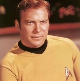 As Captain Kirk