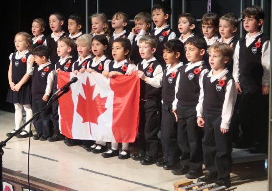 SK class marks Remembrance Day