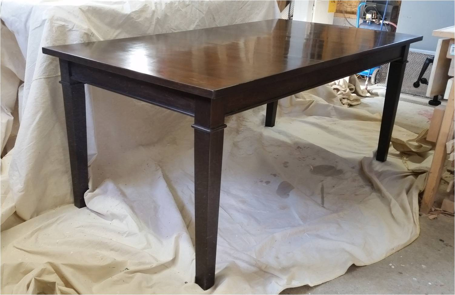 maple kitchen table clean the games custom furniture ontario bayview escarpment fine and cabinetry