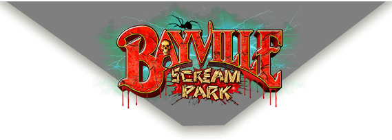 Bayville Scream Park official logo.