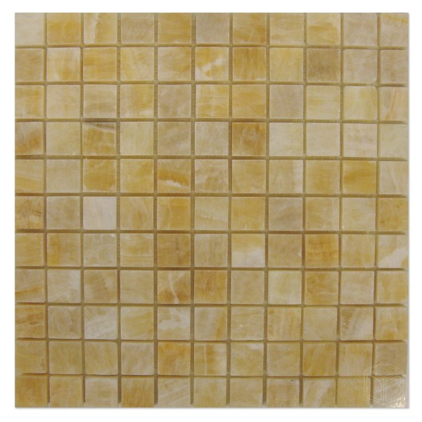 Honey Onyx Mosaic 1 Bayyurt Marble