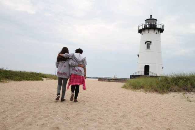 A lifelong friendship made at Martha's Vineyard.