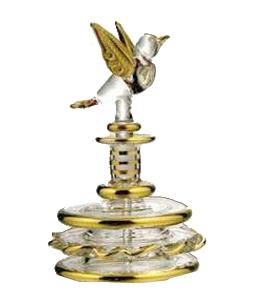 Bird Glass Perfume Bottles