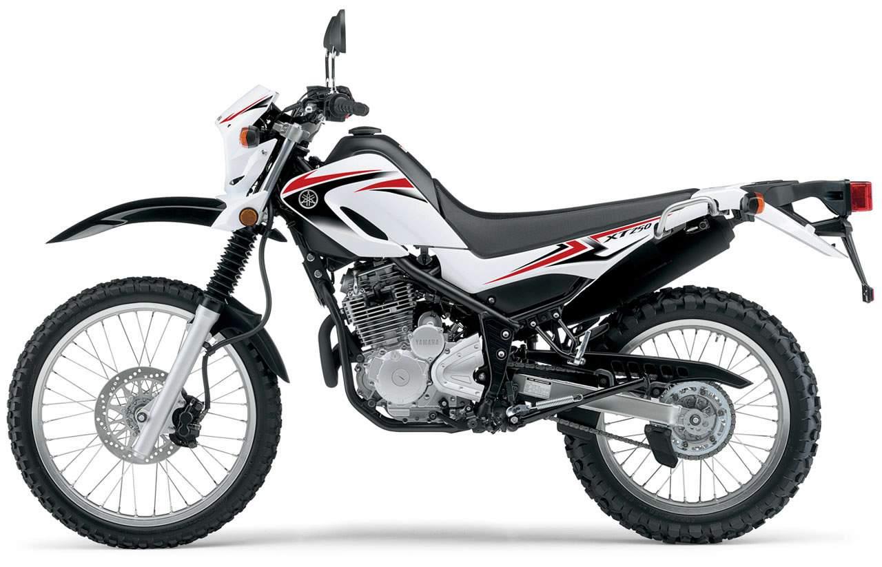 Мотоцикл Yamaha XT 250 Serow 2007 Описание, Фото, Запчасти