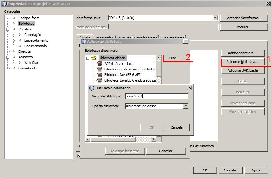 Instalação Jena - NetBeans e Eclipse (2/6)
