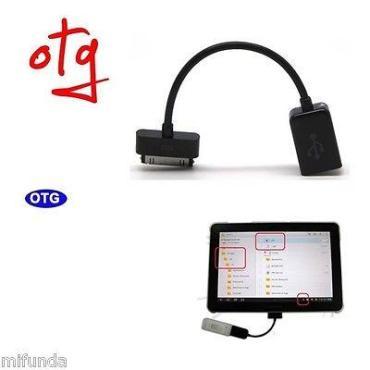 CABLE ADAPTADOR OTG PARA SAMSUNG GALAXY TAB CON CONECTOR DE 30 PIN TAB ADAPTER