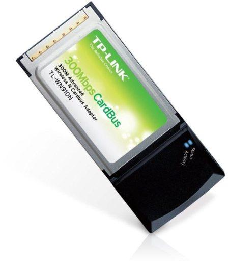 Tp-Link TL-WN910N - Adaptador Cardbus inalámbrico para redes, 300 Mbps, 2,4 GHz