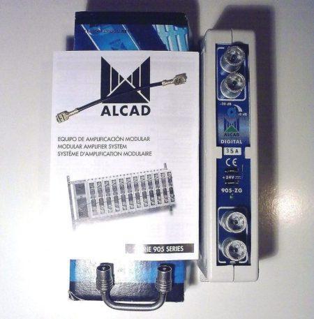 AMPLICADORES DE TV MONOCANAL ALCAD 905ZG 905-ZG/ 28A, 46A, 65-69, 67-69