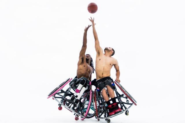 Баскетбол на колясках в Киеве