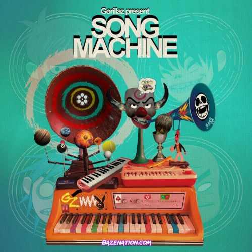 Gorillaz - Strange Timez ft. Robert Smith Mp3 Download