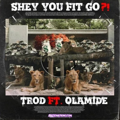 Trod – Shey You Fit Go? Ft. Olamide Mp3 Download