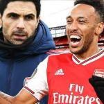Has Aubameyang signed a deal with Arsenal?