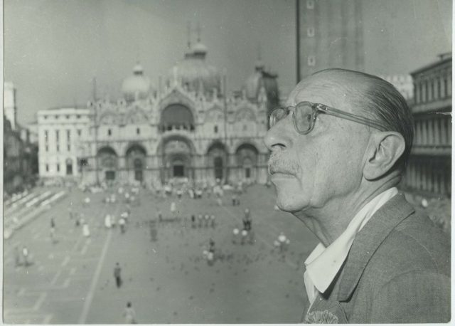 1 Stravinsky in Venice September 1951 1024x733 - Венеция Игоря Стравинского