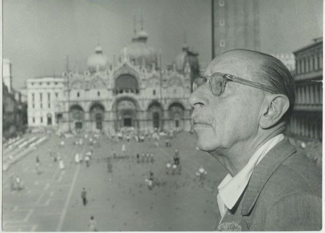 1 Stravinsky in Venice September 1951 1024x733 - Венеция Игоря Стравинского