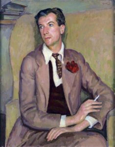 Henry Lamb. Portrait of Cecil Beaton.1937 235x300 - Cecil Beaton Portrait