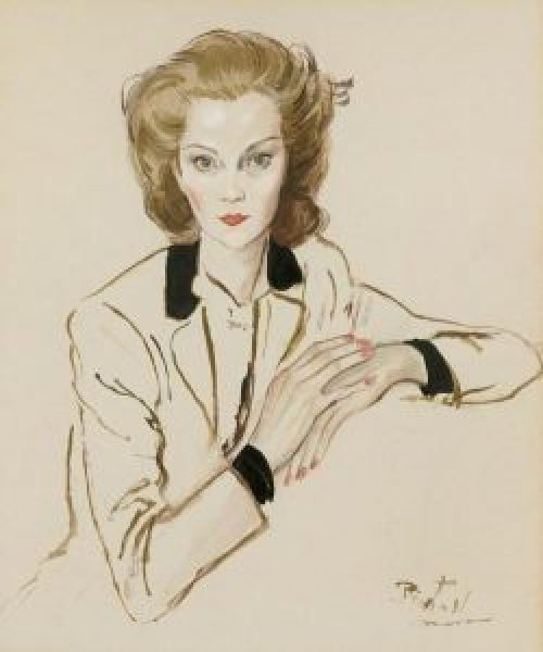 c beaton painter 250x300 - Cecil Beaton painter