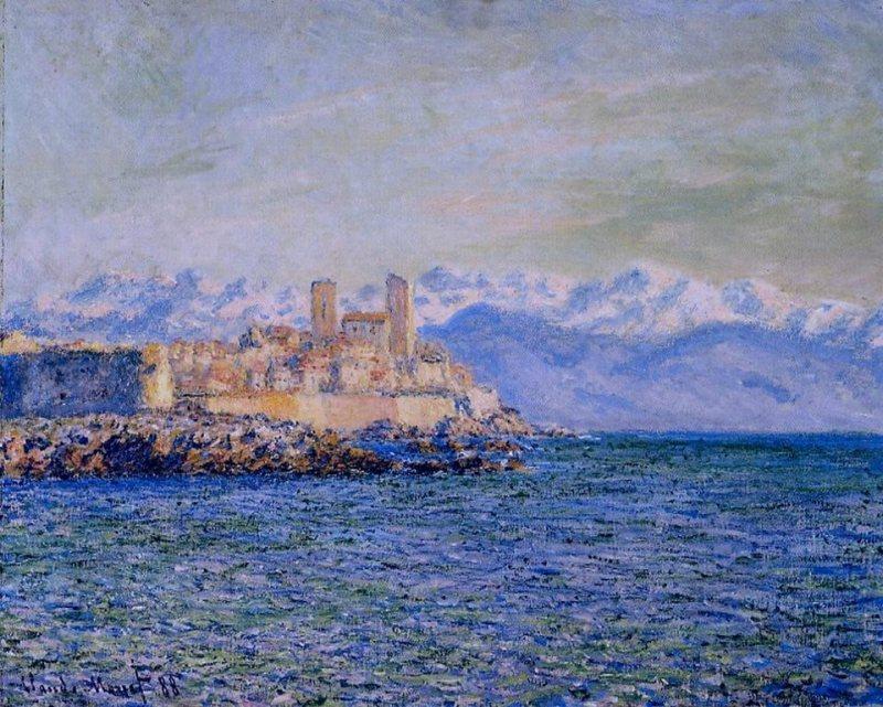 8. 13 сентября Claude Monet.The Old Fort at Antibes. - 13 сентября 2016