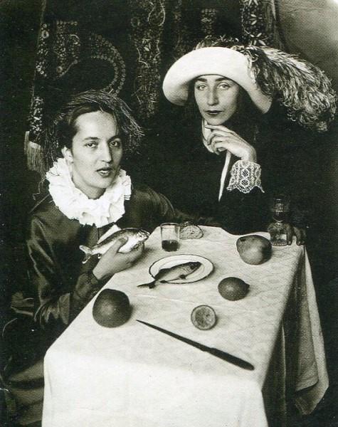 Tatjana Glebova i Alisa Poret. 1920 e - ...запылали Бадаевские склады, и начался голод.