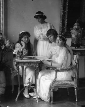 Великие княжны Мария, Татьяна, Анастасия и Ольга